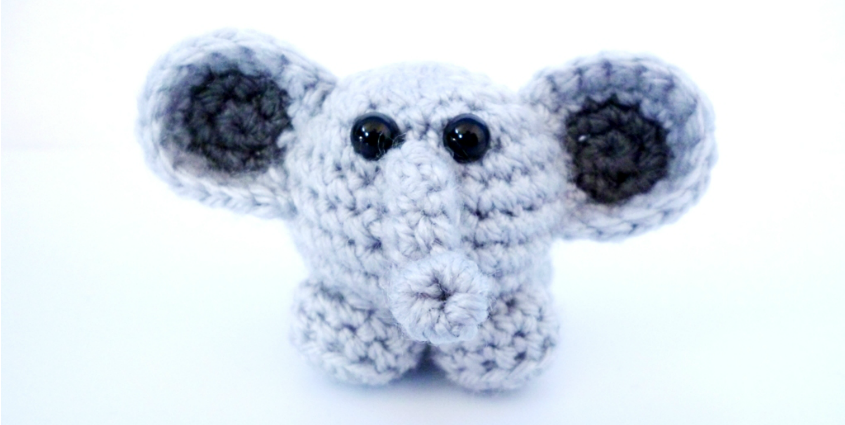Ollie the Elephant – crochet pattern