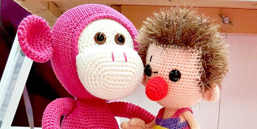 Kreadoe 2015 with Mike the Monkey