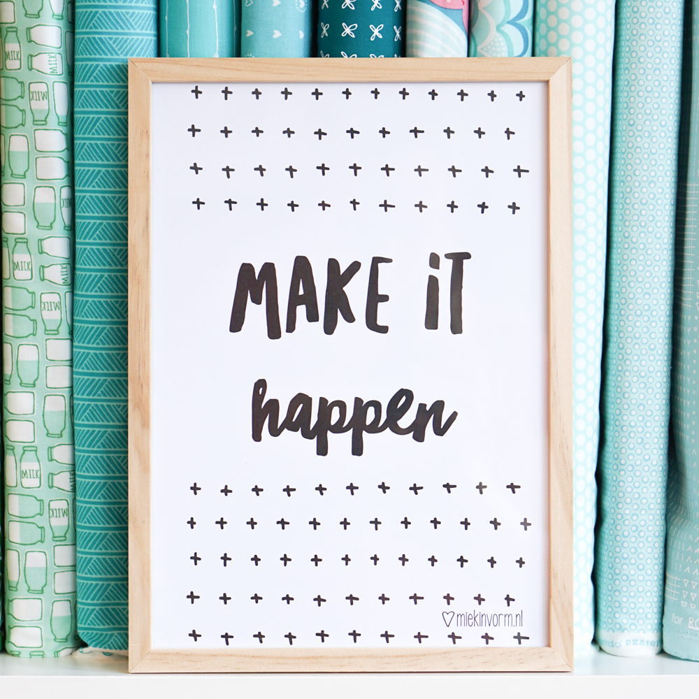 Make it happen! I quit my job, choosing happy