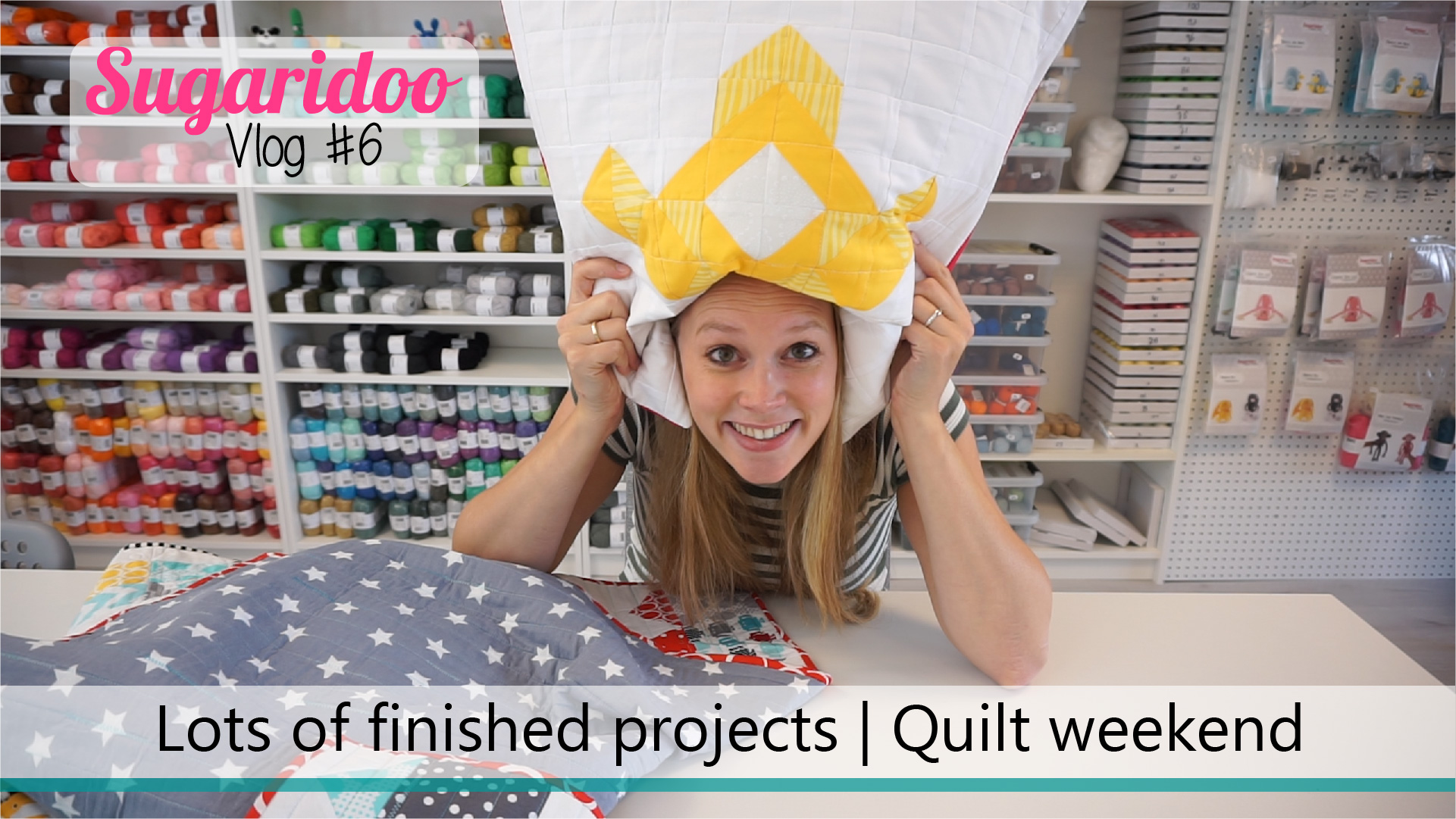 Vlog #6 | Busy week, lots of finished projects