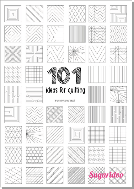 101 ideas for straight line quilting