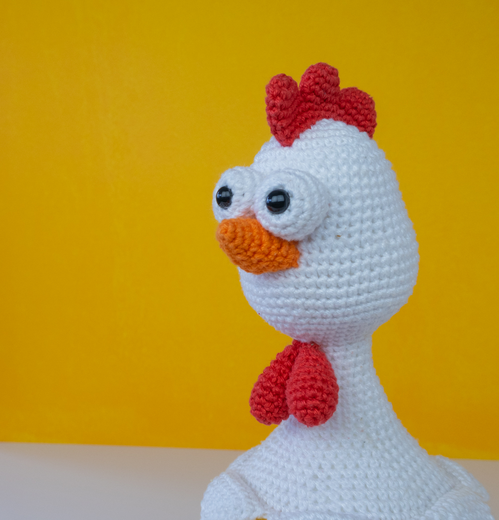 Polly the Chicken amigurumi pattern release + discount code