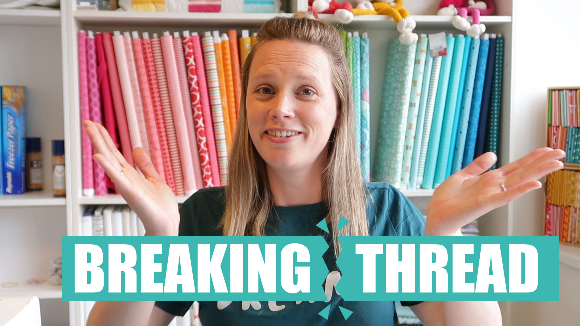 Help! Thread breaking while quilting