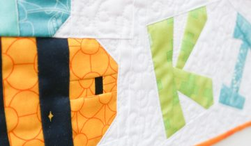 Bee Kind | Mini Quilt Tutorial